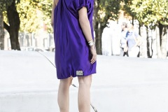 Violet  Balloon dress