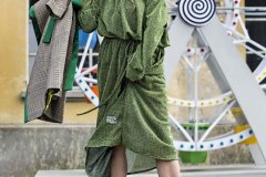 Lurex Green Dress